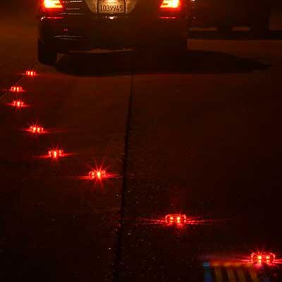 PowerFlare in street