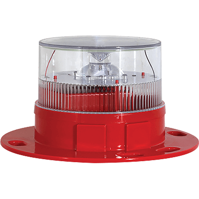 AV-OL-60 Red Solar Aviation Light | Avlite