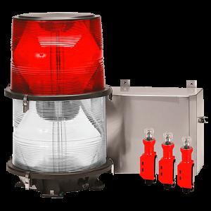 L864 L865 Medium Intensity Dual Xenon Obstruction Lights FTB 324