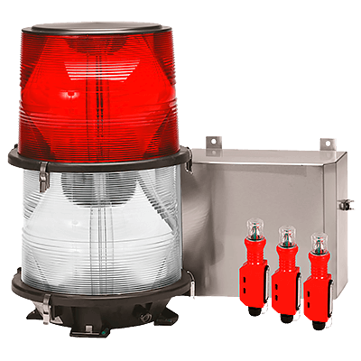 L-864 / L-865 Medium Intensity Dual Xenon Obstruction Lighting System | FTB 324