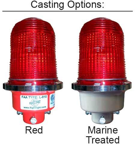 Obstruction Lights L810 casting options