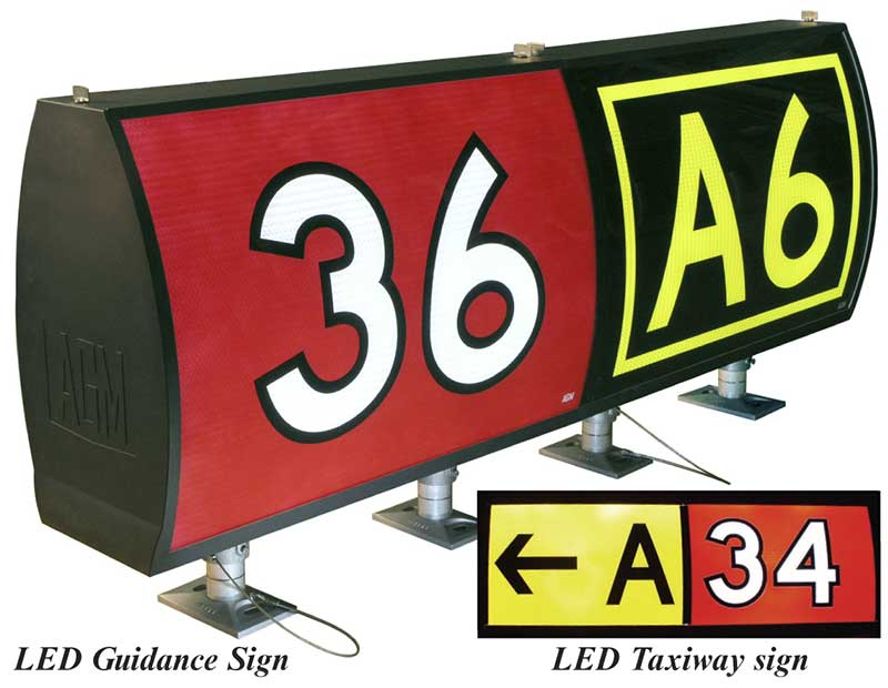AGM Solar LED Signs L858