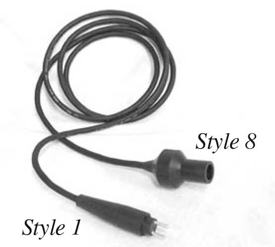 Secondary Extension Cords L823 style 1 style 8
