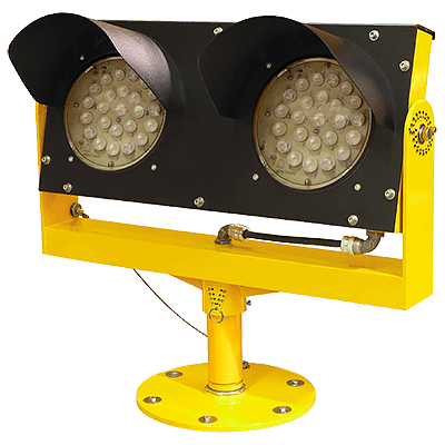 Elevated LED Runway Guard Light (RGL) | Certified FAA L-804