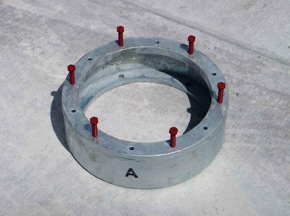 Light Base Flange Bolts ring
