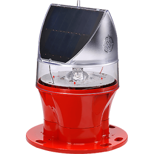 Solar Powered ICAO Type A Low Intensity Obstruction Light AV-OL-75