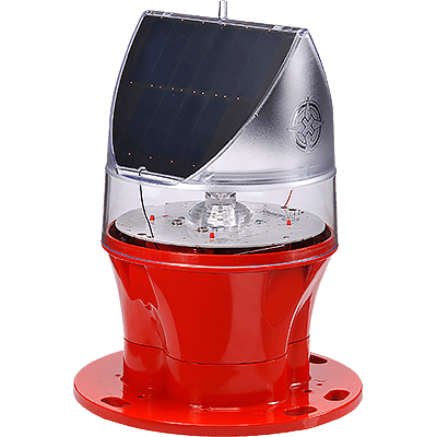 AV-OL-75 Solar Powered ICAO Type A Low Intensity Obstruction Light | Avlite