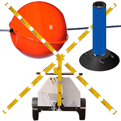 Airport Markers, Runway Closure Markers, Wire Markers, airport product