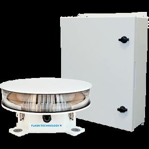 L865 Medium Intensity White LED Obstruction Beacon FTS 370w