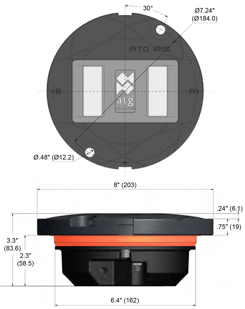 IR852SC dimensions