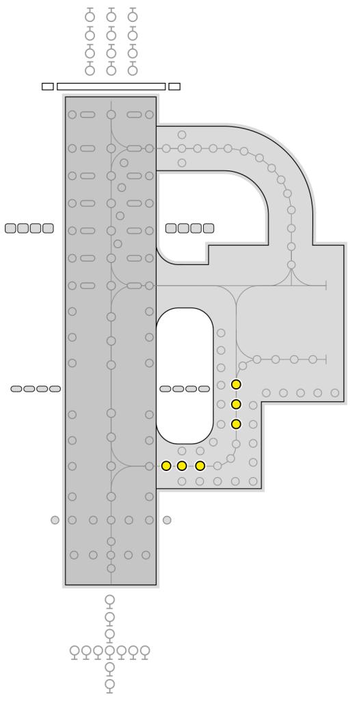 IR852A light layout