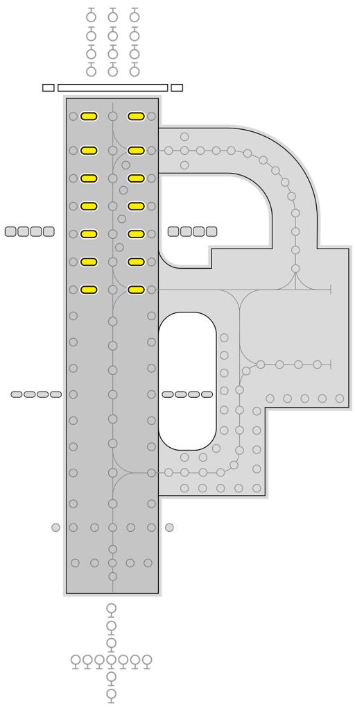 IR850B light layout