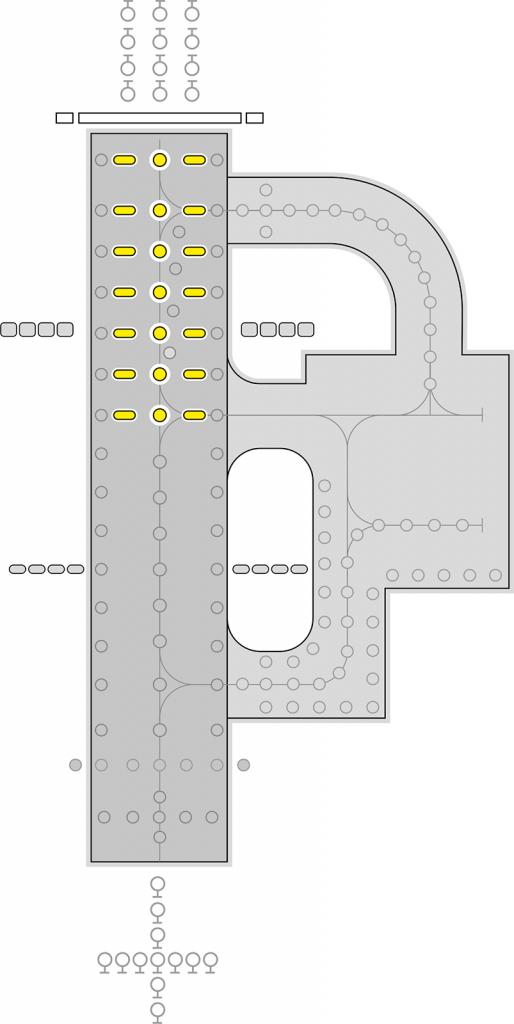 ZA484 Runway Centerline TDZ layout
