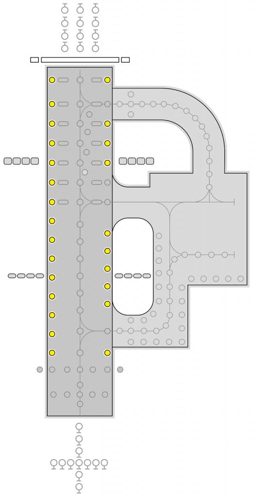 ZA483 Runway Edge layout