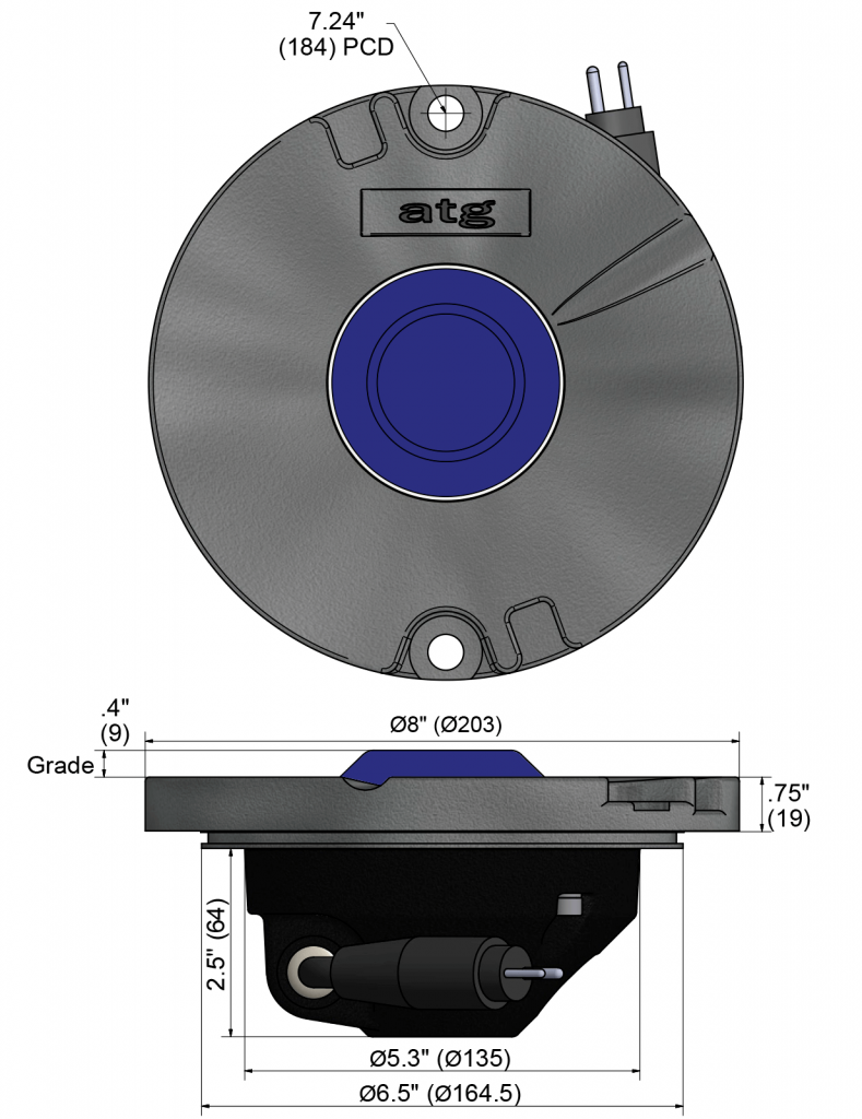 IR852T dimensions
