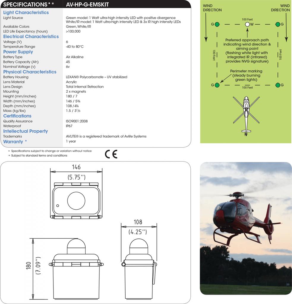 AV-HP-G-EMSKIT specifications