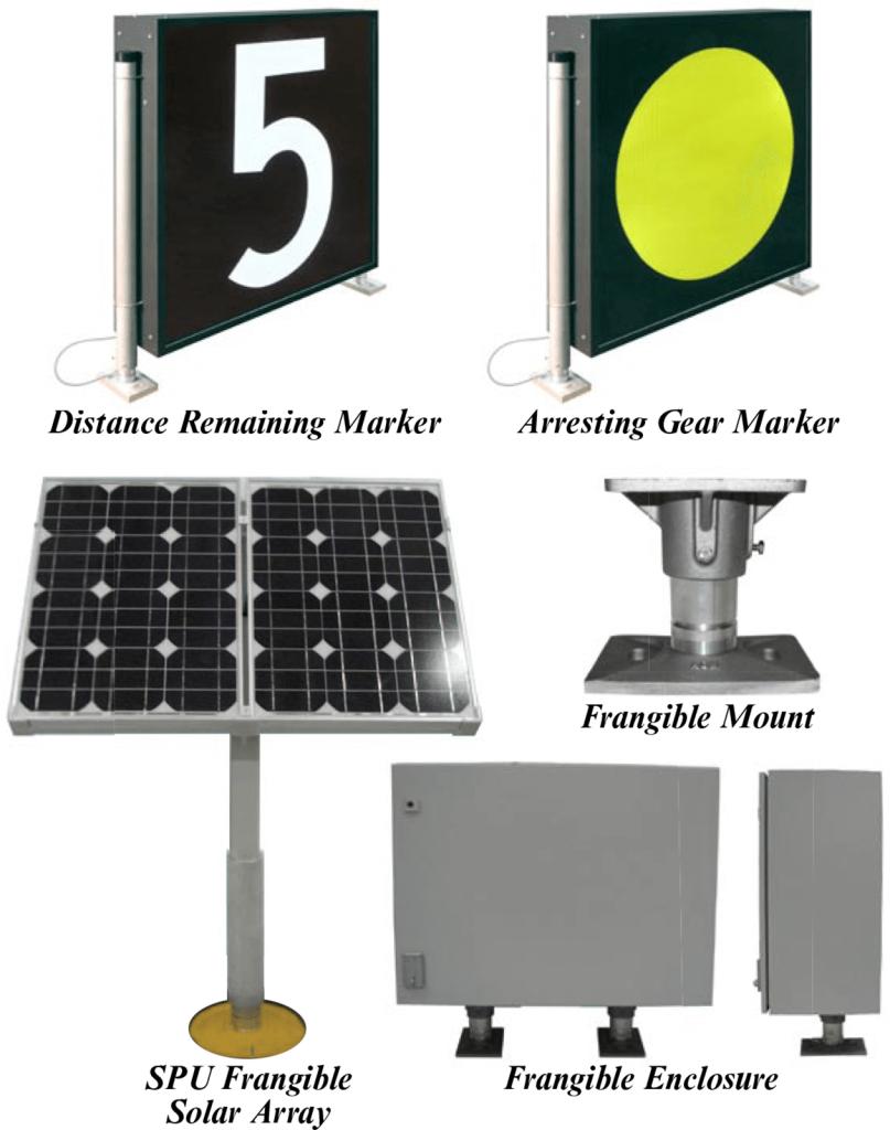 AGM Solar LED Signs L858 components