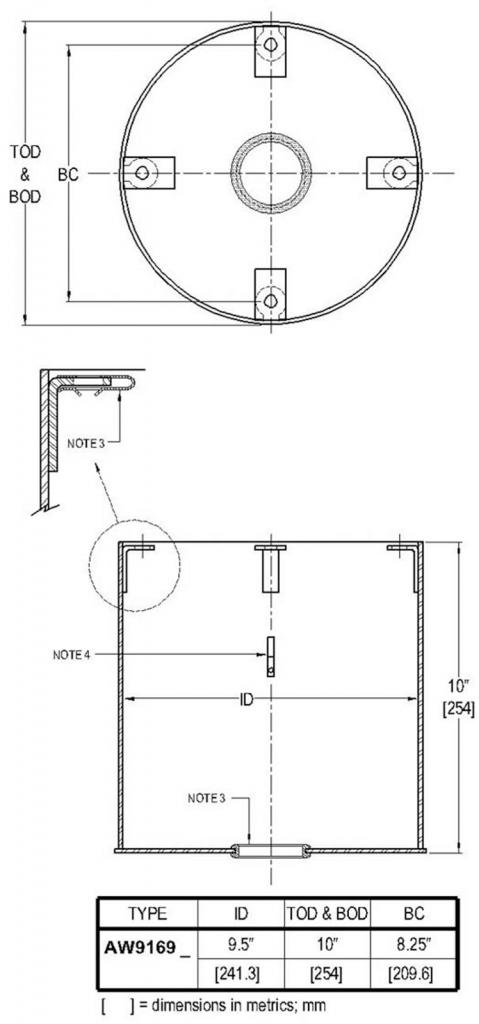GA Style Light Base drawing