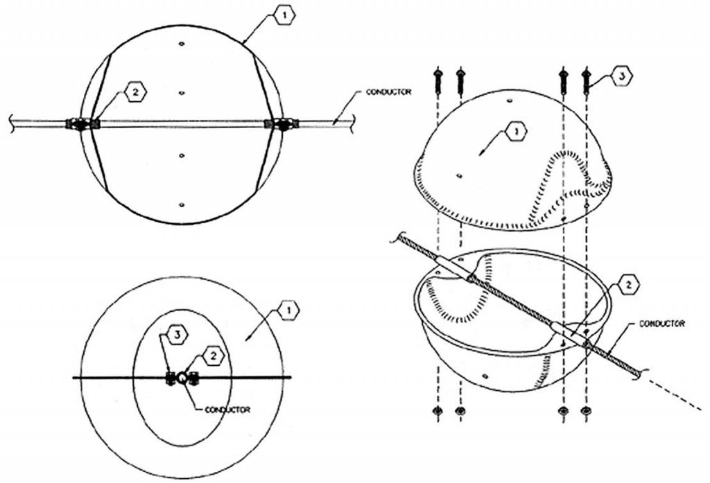 Aerial Marker Ball diagram