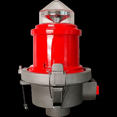 L810 LED Steady Burning Red Obstruction Light