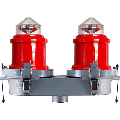 L810 LED Double Red Obstruction Light