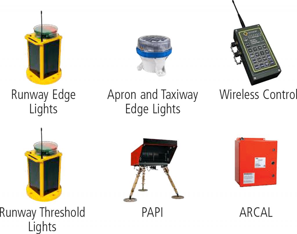 PALT Portable Airfield Lighting Trailer Fixtures
