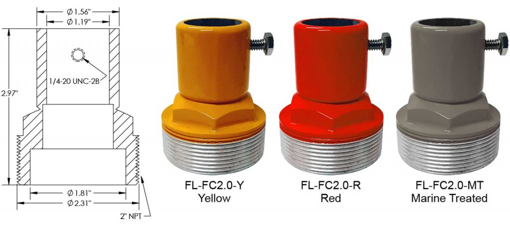 FL-FC2.0 frangible coupling