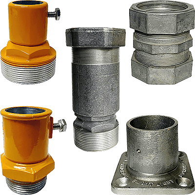 frangible couplings