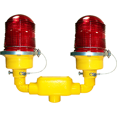 L-810 Incandescent Red Obstruction Light