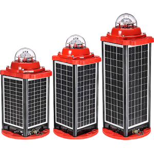AV-OL-310-Solar LED Low Intensity Obstruction Light