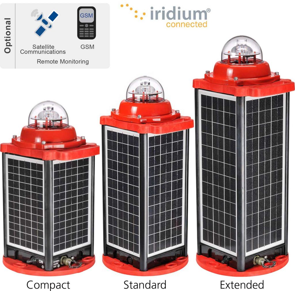 AV-OL-310-Solar LED Low Intensity Obstruction Light