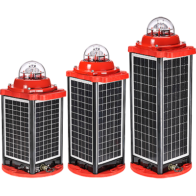 Solar LED Low Intensity Obstruction Light | AV-OL-310