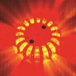 powerflare LED color red amber