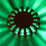 powerflare LED color green