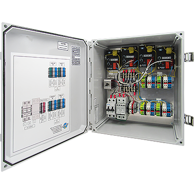 LED Obstruction Lighting Controller with Transfer Relay & Alarm | FL-81051