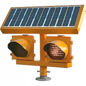 Solar LED Elevated Runway Guard Light ERGL