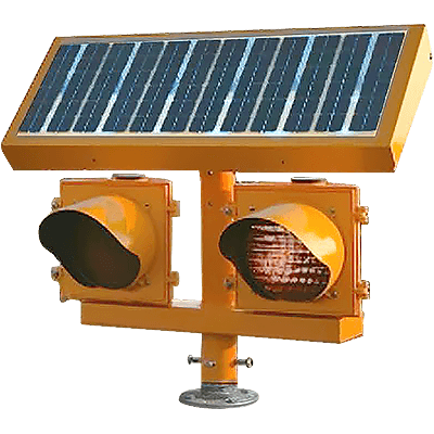 Solar LED Elevated Runway Guard Light (ERGL)