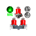 night vision compatible obstruction lights