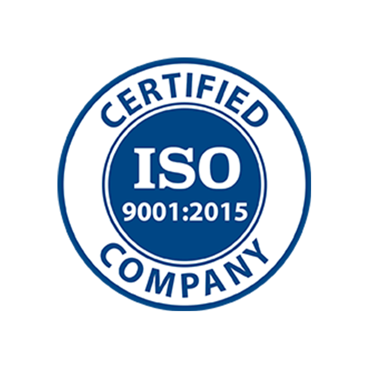 ISO Certified Logo - ISO 9001:2015