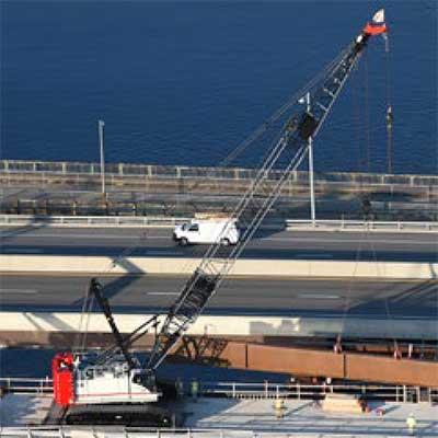 AV-OL-70 Solar Obstruction Light crane