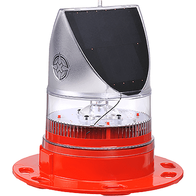 AV-OL-70 & AV-OL-70-HI Red Solar Obstruction Light | Avlite