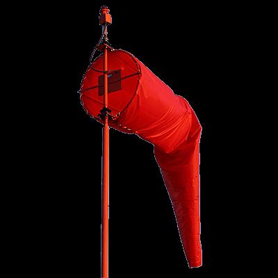 L-807 Wind Cone AC and Solar Powered Rigid