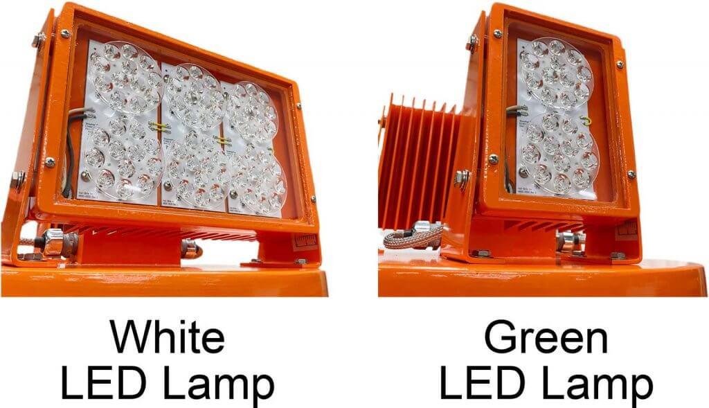 L-801AL LED Medium Intensity Airport Rotating Beacon heads