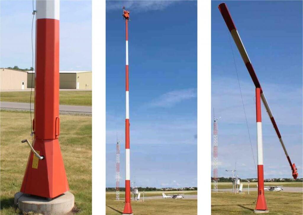 Optional Beacon Tipdown Pole